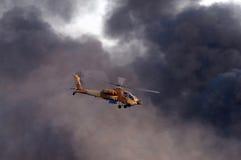 helikopter för 64 ah apache Royaltyfria Bilder