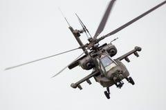 helikopter för 64 ah apache Fotografering för Bildbyråer