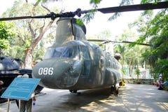 Helikopter för amerikan CH-47 Chinook Fotografering för Bildbyråer