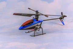 Helikopter för leksak RC Fotografering för Bildbyråer