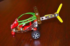 Helikopter för liten modell Arkivfoton