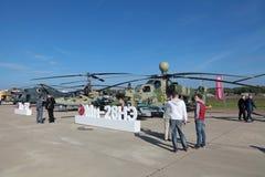 Helikopter för Mil Mi-28 Royaltyfria Bilder