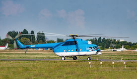 Helikopter för Mil Mi-8 Arkivbild