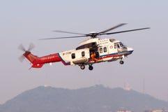 Helikopter för räddningsaktion EC225 royaltyfri foto