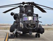 Helikopter för specialförband CH-47 Chinook Arkivbilder