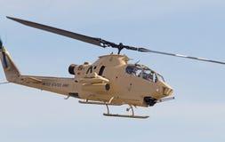 Helikopter för tappningkobraattack Arkivbild