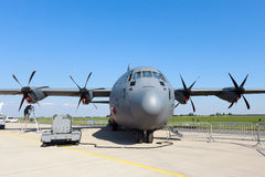 Helikopter för transport C-130 Arkivfoton