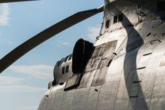 Helikopter för transport för gloria för Mil MI-26 tung Royaltyfri Fotografi