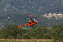 Helikopter - Helikopter - Leger - modelhelikopter Stock Foto's