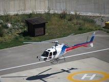 Helikopter het opstijgen Royalty-vrije Stock Foto's