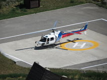 Helikopter klaar voor start Royalty-vrije Stock Afbeeldingen