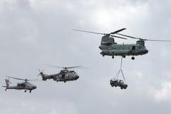 helikopter lotnicza władza Fotografia Royalty Free