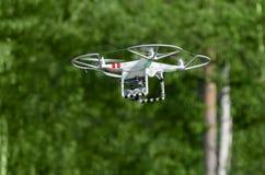 Helikopter met Camera Royalty-vrije Stock Afbeeldingen