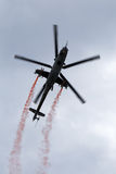 Helikopter Mi-24 Royaltyfria Foton