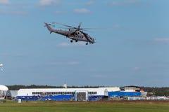 Helikopter Mi-35 Arkivfoto