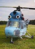 2 helikopter mi Royaltyfria Foton