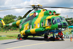 Helikopter mi-8 Royalty-vrije Stock Fotografie