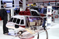 helikopter mi för aerotaksi 171 Arkivfoto