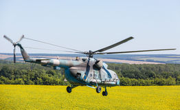 Helikopter Mi-8 (höften) Arkivbild