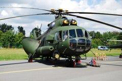 helikopter mi mil för 17 ae Arkivbild