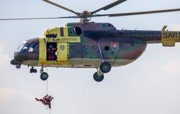 Helikopter Mil Mi-17 Royaltyfria Bilder