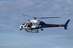 helikopter na policję Obraz Royalty Free