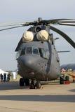 Helikopter pokazywać przy MAKS Międzynarodowym Kosmicznym salonem Obraz Royalty Free