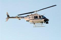 Helikopter policyjny Zdjęcie Stock