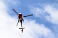 Helikopter policyjny Obraz Royalty Free