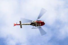 Helikopter policyjny Obrazy Royalty Free