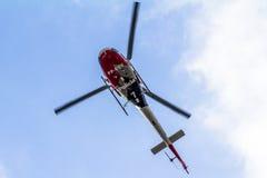 Helikopter policyjny Zdjęcia Royalty Free