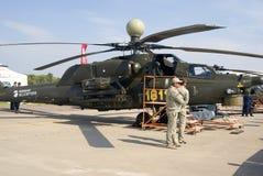 Helikopter przy MAKS Międzynarodowym Kosmicznym salonem Zdjęcia Stock