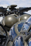 Helikopter przy MAKS Międzynarodowym Kosmicznym salonem Obraz Royalty Free