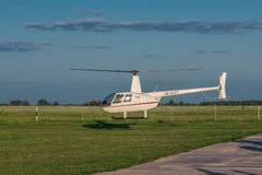 44 helikopter r robinson Royaltyfri Bild