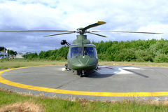 helikopter ratunkowy Obrazy Royalty Free