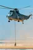Helikopter Seaking Royalty-vrije Stock Afbeeldingen