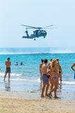 Helikopter SH-60B Seahawk Arkivfoto