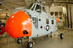 Helikopter - Sikorsky HH - 19 B (S-55) Arkivbild