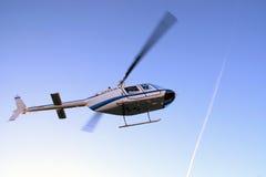 Helikopter som tar av Royaltyfri Bild