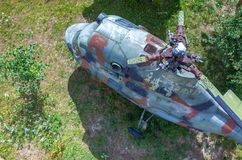 helikopter stary Fotografia Stock