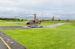 """Helikopter te de Waterkant †""""Zuid-Afrika van Cape Town Royalty-vrije Stock Afbeeldingen"""