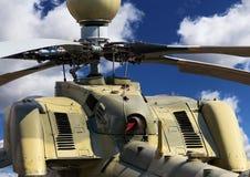 Helikopter, tylni widok Obrazy Royalty Free