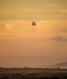 helikopter unosi się Zdjęcie Stock