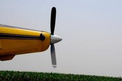 helikopter upraw silnika Obraz Royalty Free