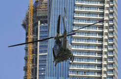 Helikopter w Dubaj obrazy stock