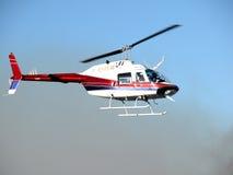 helikopter wiadomość Zdjęcie Stock