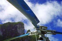 Helikopterbladen Royalty-vrije Stock Afbeeldingen