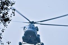 Helikopterflyg Royaltyfria Foton