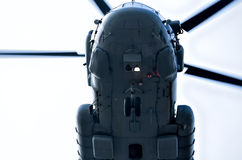 Helikopterflyg Arkivbilder