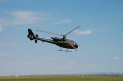 Helikopterflygshow Arkivbild
